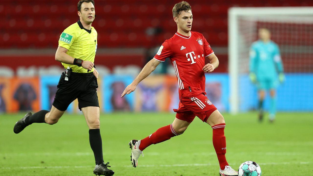 Mittelfeld: Joshua Kimmich (FC Bayern München) - Bildquelle: 2020 Getty Images