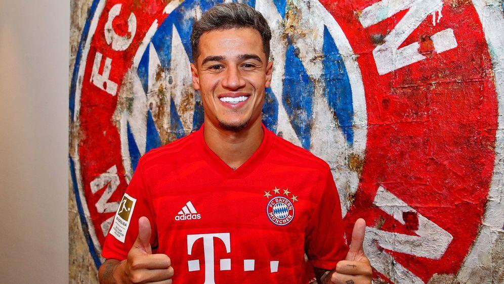 Philippe Coutinho wird beim FC Bayern vorgestellt. - Bildquelle: 2019 Getty Images