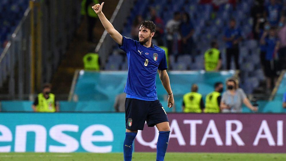 Im Achtelfinale trifft die italienische Nationalmannschaft auf Österreich. A... - Bildquelle: 2021 Alberto Lingria - Pool
