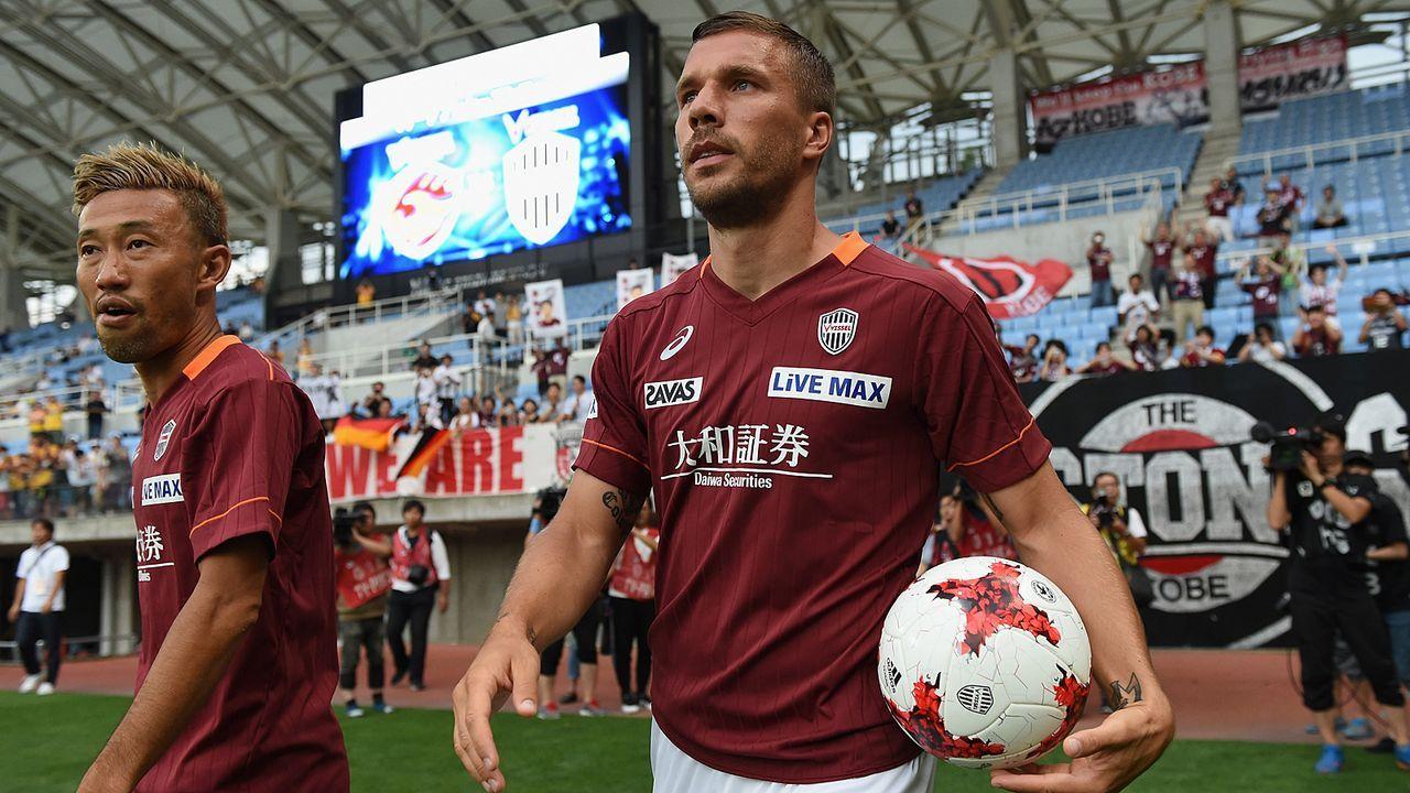 Lukas Podolski (Vissel Kobe) - Bildquelle: 2017 Getty Images