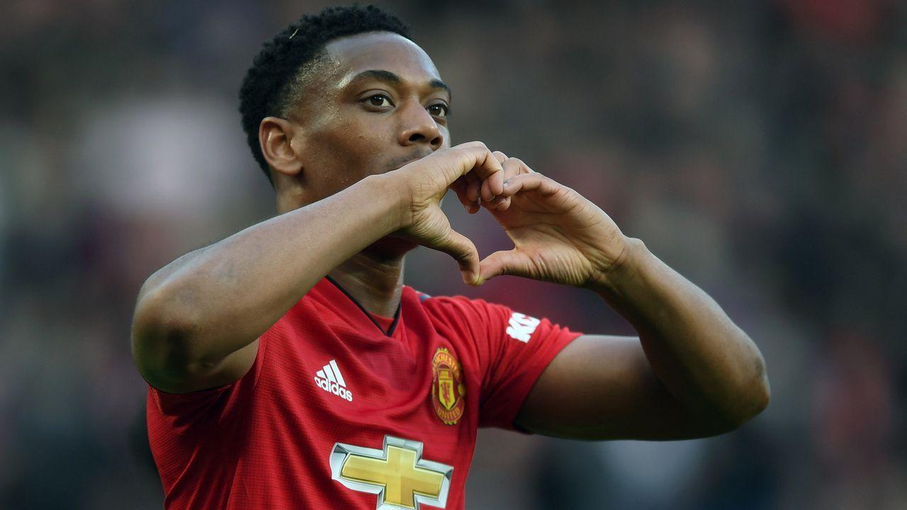 Platz 3 - Anthony Martial (Manchester United) - Bildquelle: 2019 Getty Images