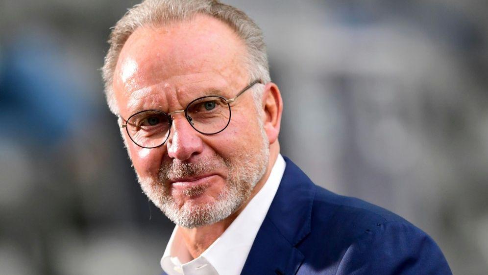 Rummenigge äußerte sich zu den Transferplänen der Bayern - Bildquelle: AFPSIDROBERT MICHAEL