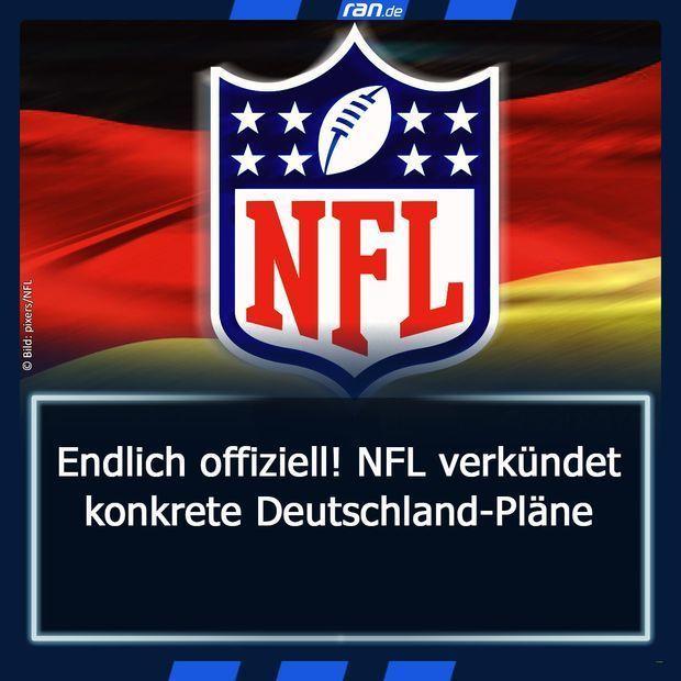 NFL-Verkündung - Link in Bio