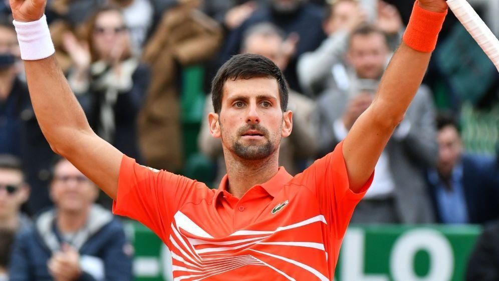 Novak Djokovic besiegt Taylor Fritz in 68 Minuten - Bildquelle: AFPSIDYANN COATSALIOU