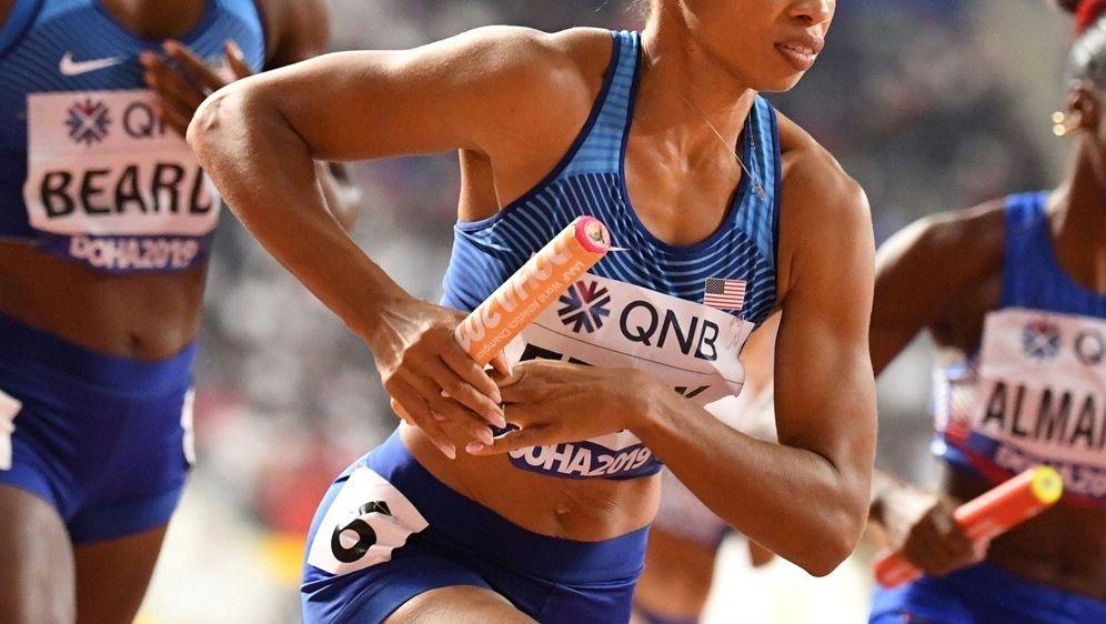 Felix gewinnt ihr 13. Gold bei einer Leichtathletik-WM - Bildquelle: AFPSIDJEWEL SAMAD