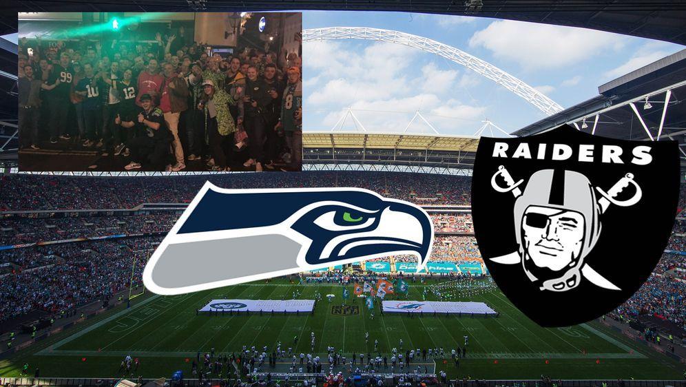 London, wir kommen! Mit den NFL-Teams aus Seattle und Oakland fällt auch die... - Bildquelle: Getty Images, ran.de