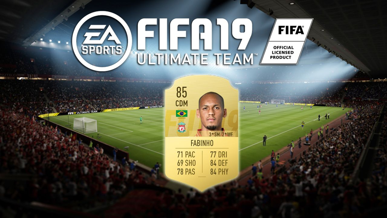 Platz 1: Fabinho (FC Liverpool) - Bildquelle: EA Sports