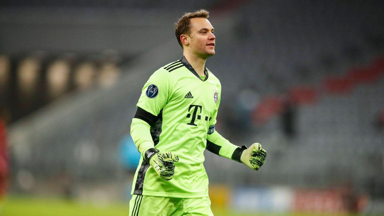Torwart: Manuel Neuer (FC Bayern München) - Bildquelle: imago images/GEPA pictures