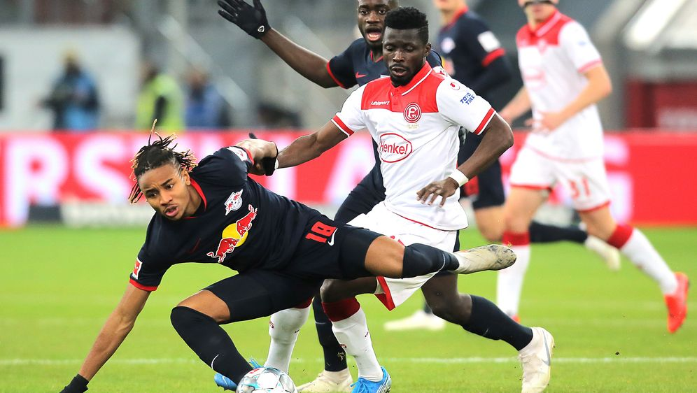 Leipzig setzt sich gegen Düsseldorf durch - Bildquelle: Getty Images