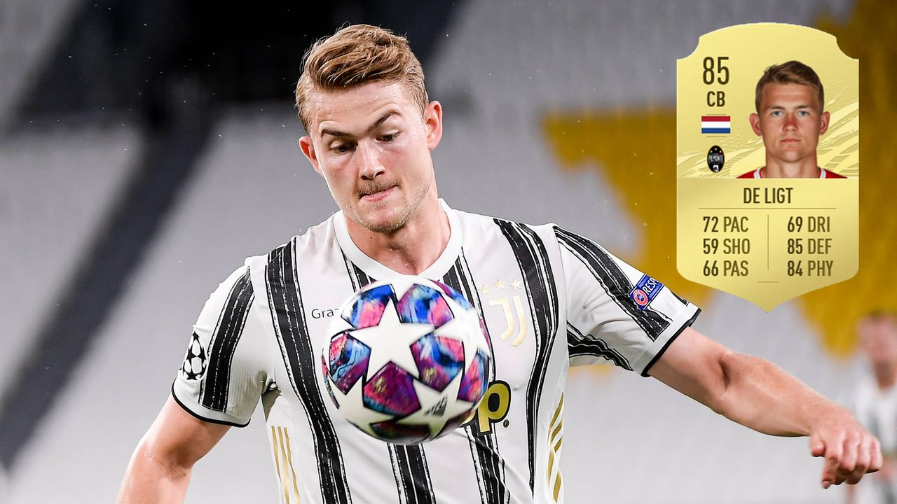 Matthijs de Ligt (Juventus Turin) - Bildquelle: Imago / Futhead