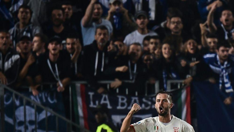 Turins Pjanic wurde von Brescias Fans diskriminiert - Bildquelle: AFPSIDMARCO BERTORELLO