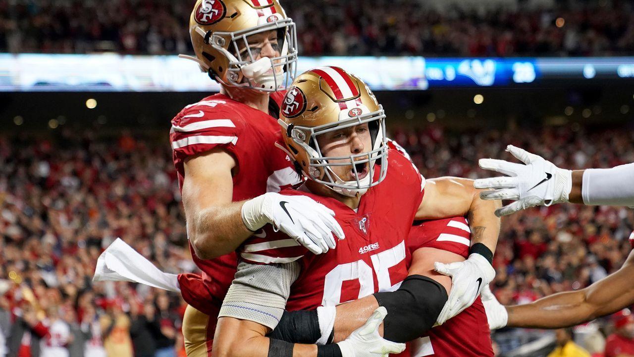 NFC: San Francisco 49ers (12-3) - Bildquelle: 2019 Getty Images