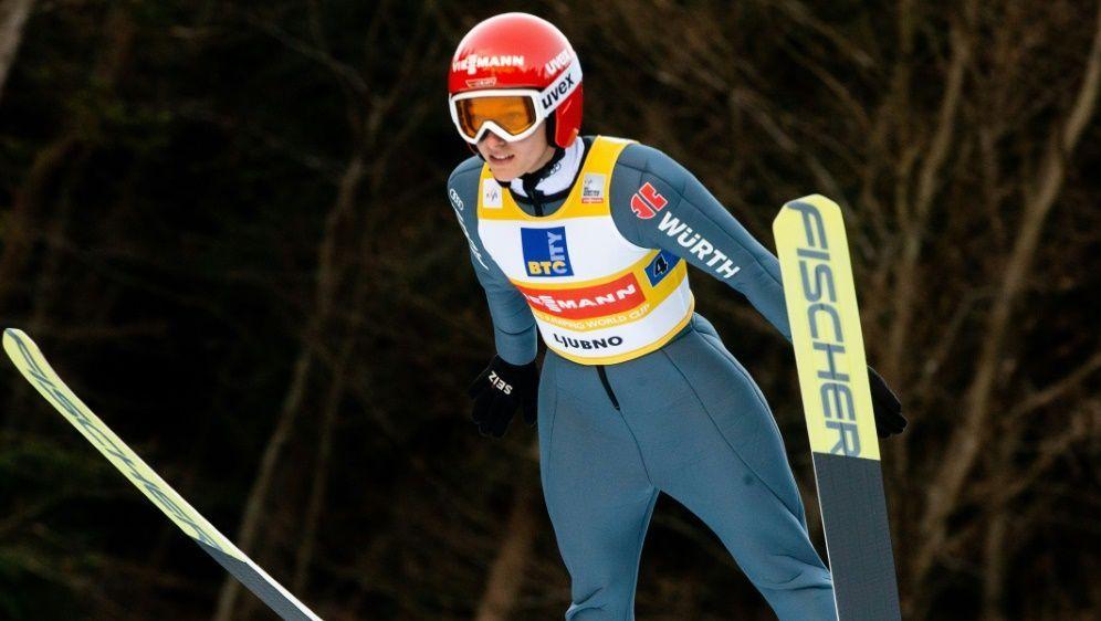 Katharina Althaus landete auf Platz zehn - Bildquelle: PIXATHLONPIXATHLONSID