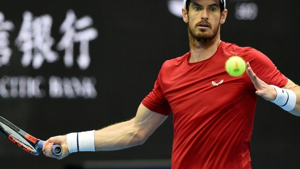 Andy Murray gewinnt Auftaktmatch in Shanghai - Bildquelle: AFPSIDLeo RAMIREZ