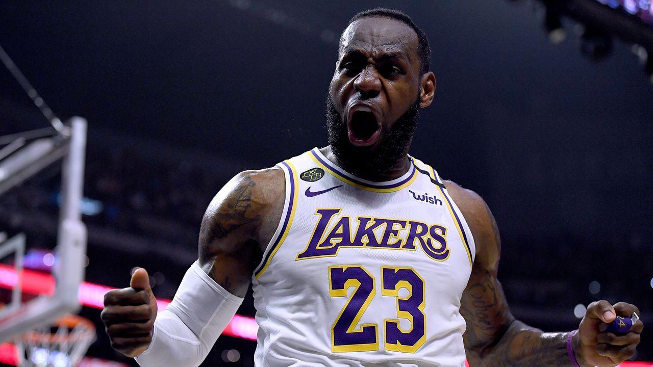 Platz 5: LeBron James (Basketball) - Bildquelle: Getty Images