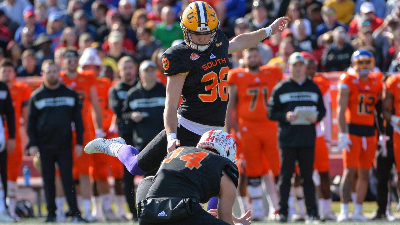 Kicker: Cole Tracy (L.S.U.) - Bildquelle: imago/ZUMA Press