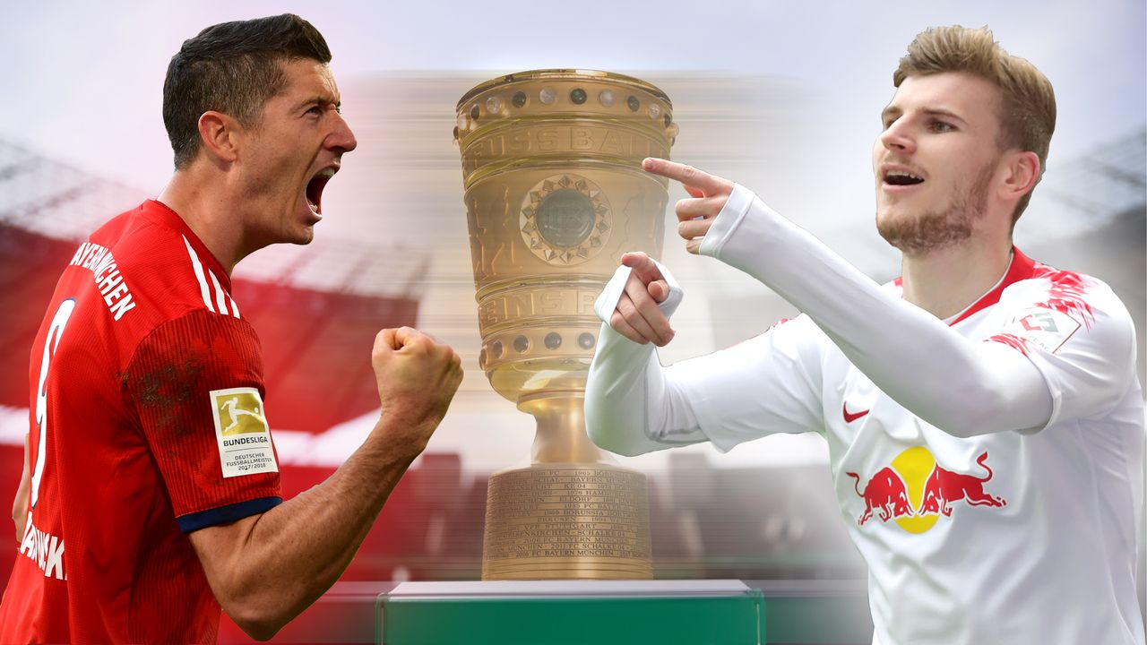FC Bayern vs. RB Leipzig: Head-to-Head zum Pokal-Finale - Bildquelle: Getty Images