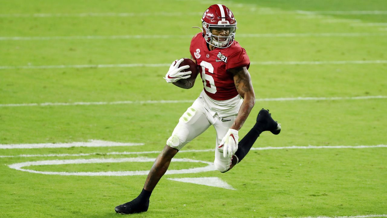 3. Pick - Miami Dolphins: DeVonta Smith (WR, Alabama) - Bildquelle: Getty Images