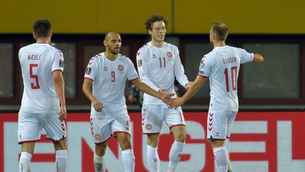 Dänemarks Nationalteam bei der WM-Qualifikation - Bildquelle: AFPSIDJAKUB SUKUP