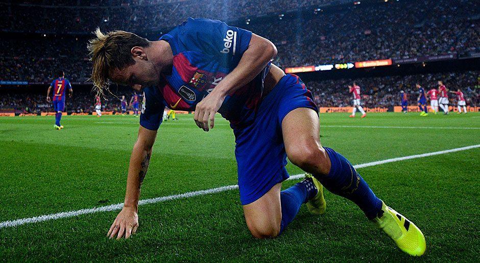 Rechter Mittelfeldspieler: Ivan Rakitic (FC Barcelona) - Bildquelle: 2016 Getty Images