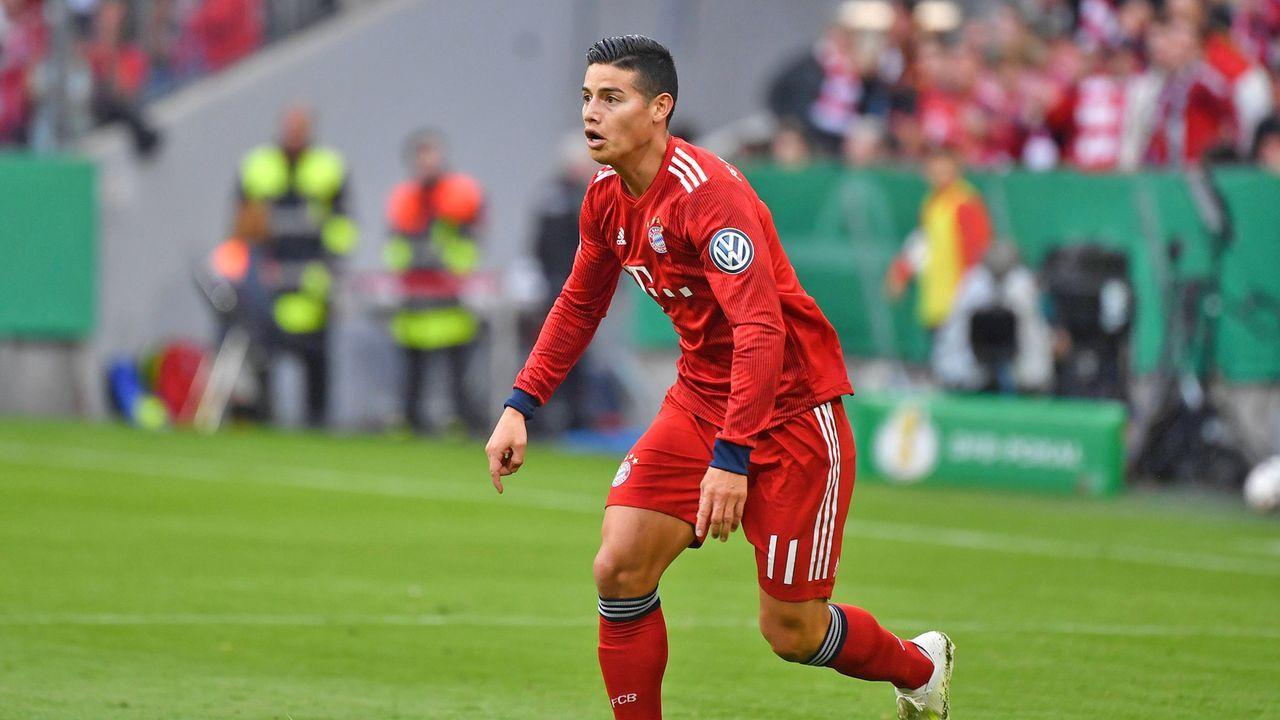 James Rodriguez (FC Bayern München) - Bildquelle: imago
