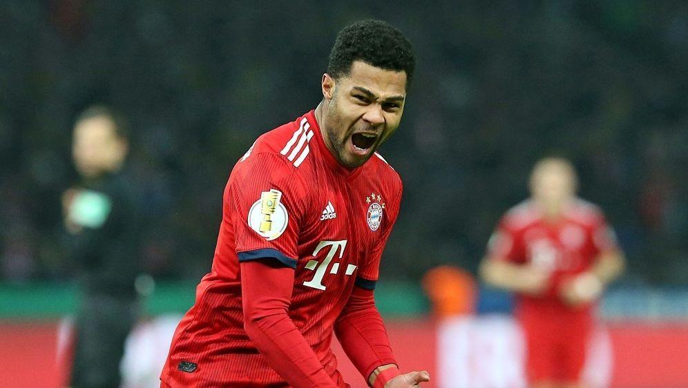 Stammspieler bei den Bayern: Serge Gnabry - Bildquelle: PIXATHLONPIXATHLONSID