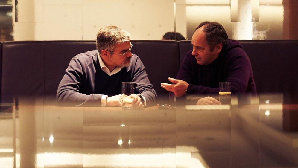 Dieter Gass und Gerhard Berger - Bildquelle: Audi AG