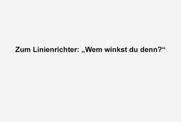 Wem winkst du? - Bildquelle: ran.de