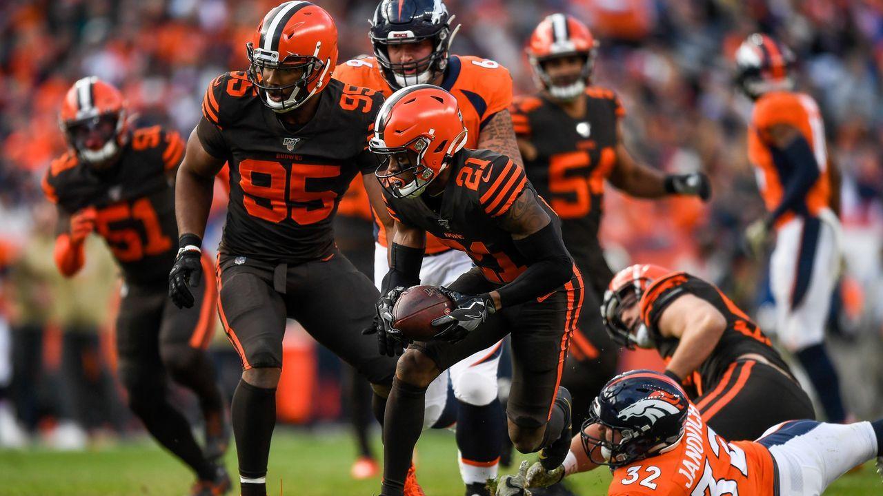 Platz 8: Cleveland Browns  - Bildquelle: 2019 Getty Images