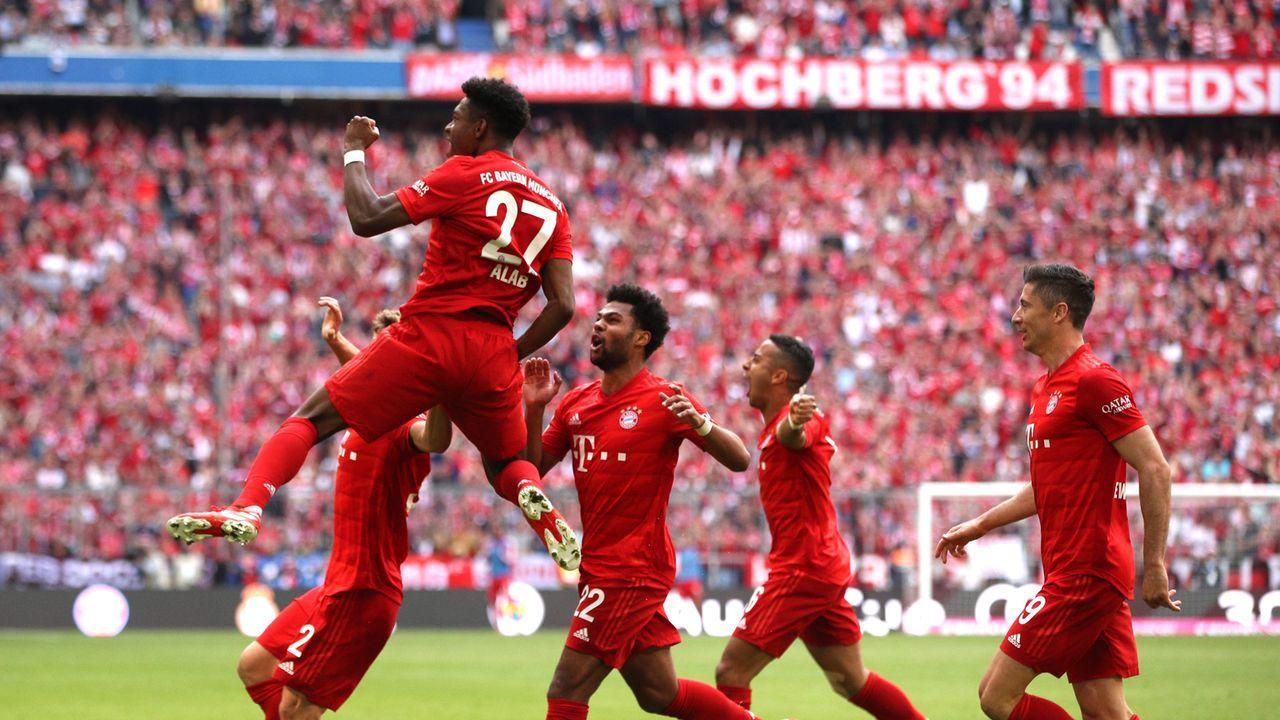 Alaba bringt Bayern wieder in Front - Bildquelle: 2019 Getty Images