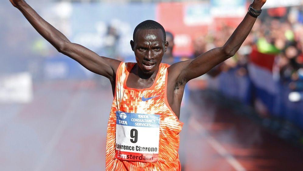 Lawrence Cherono gewinnt erstmals den Boston-Marathon - Bildquelle: ANPANPSIDBAS CZERWINSKI