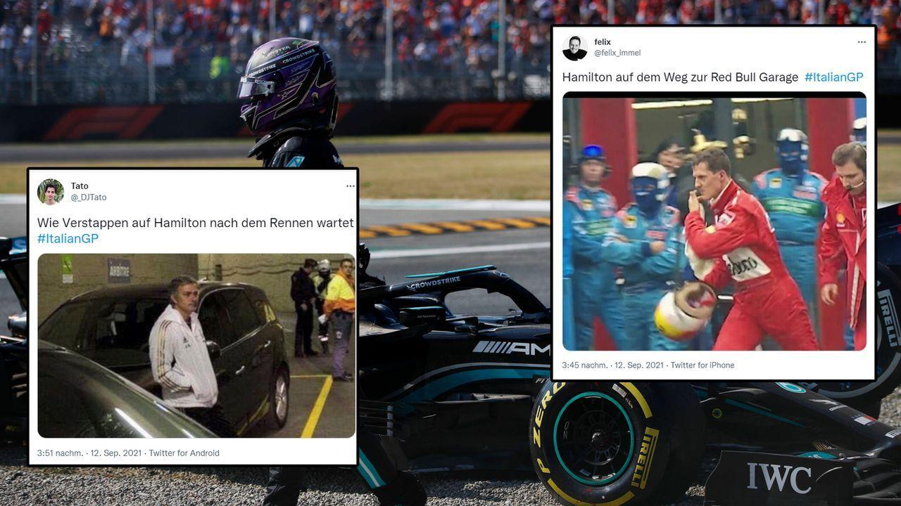 Hamilton vs Verstappen - Bildquelle: imago images/Motorsport Images