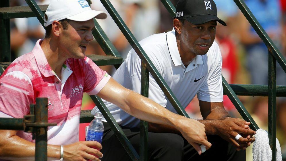 Nur noch Zuschauer: Tiger Woods und Martin Kaymer - Bildquelle: GETTY IMAGES NORTH AMERICAGETTY IMAGES NORTH AMERICASIDKevin C. Cox