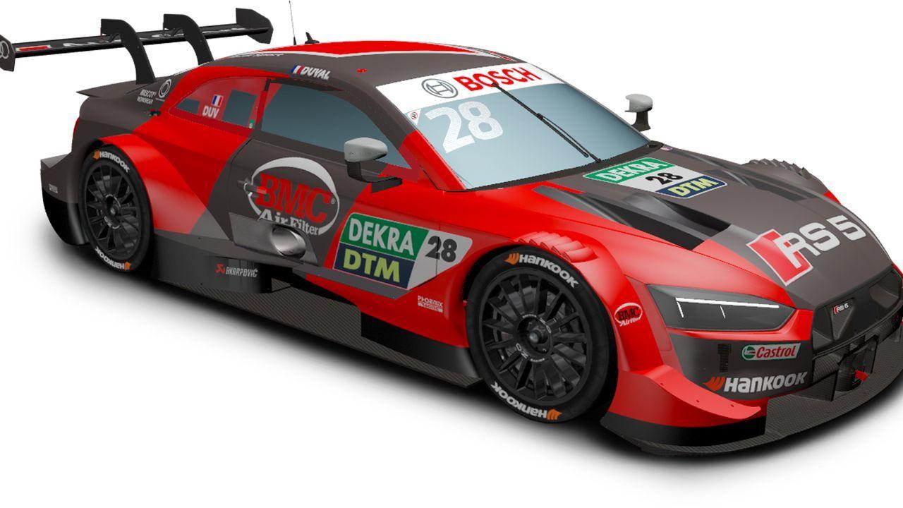 Loic Duval (Audi Sport Team Phoenix) - Bildquelle: DTM