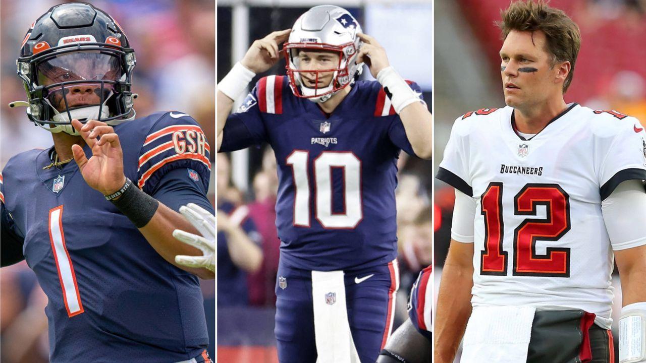 Fields, Jones und Co.: Die meistverkauften NFL-Trikots seit dem 1. August - Bildquelle: Imago/Imago/Imago