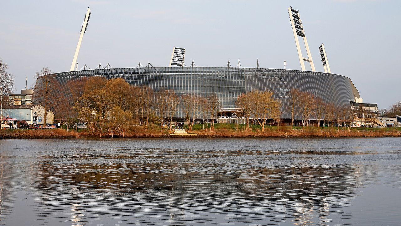 Platz 12: SV Werder Bremen - Weserstadion - Bildquelle: Getty