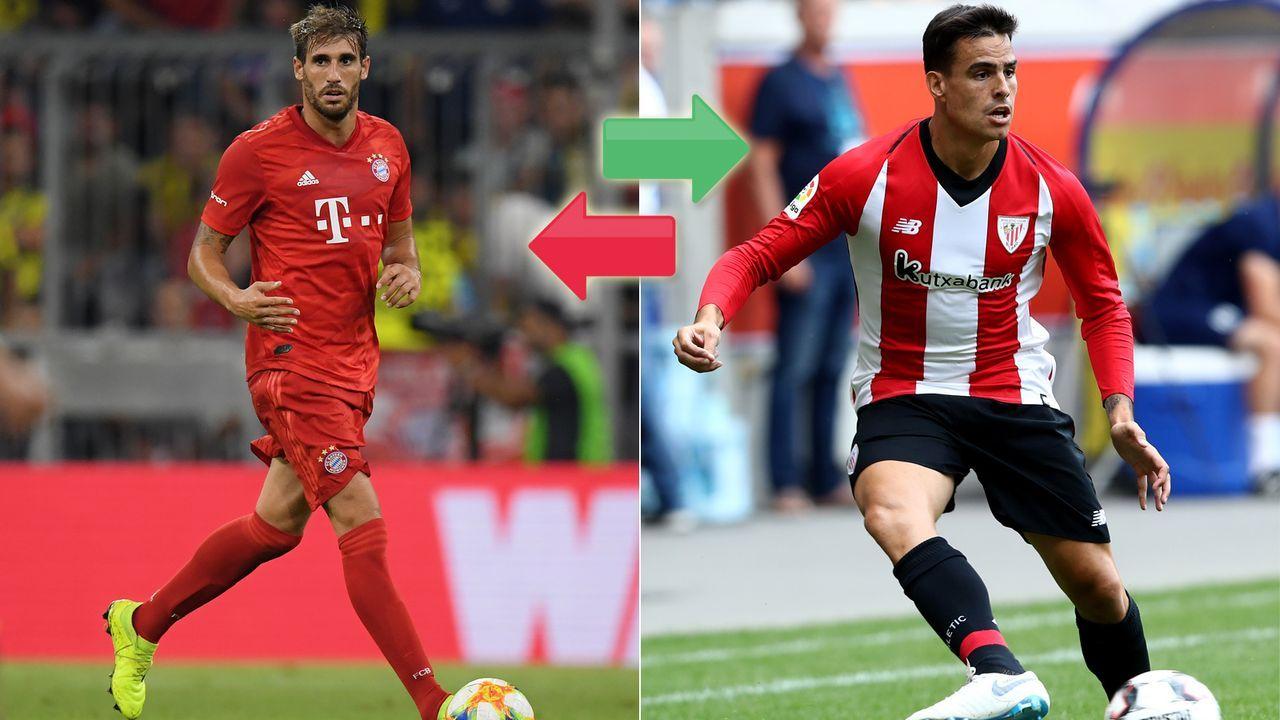 Javi Martinez (FC Bayern München) und Unai Nunez (Athletic Bilbao) - Bildquelle: Getty Images