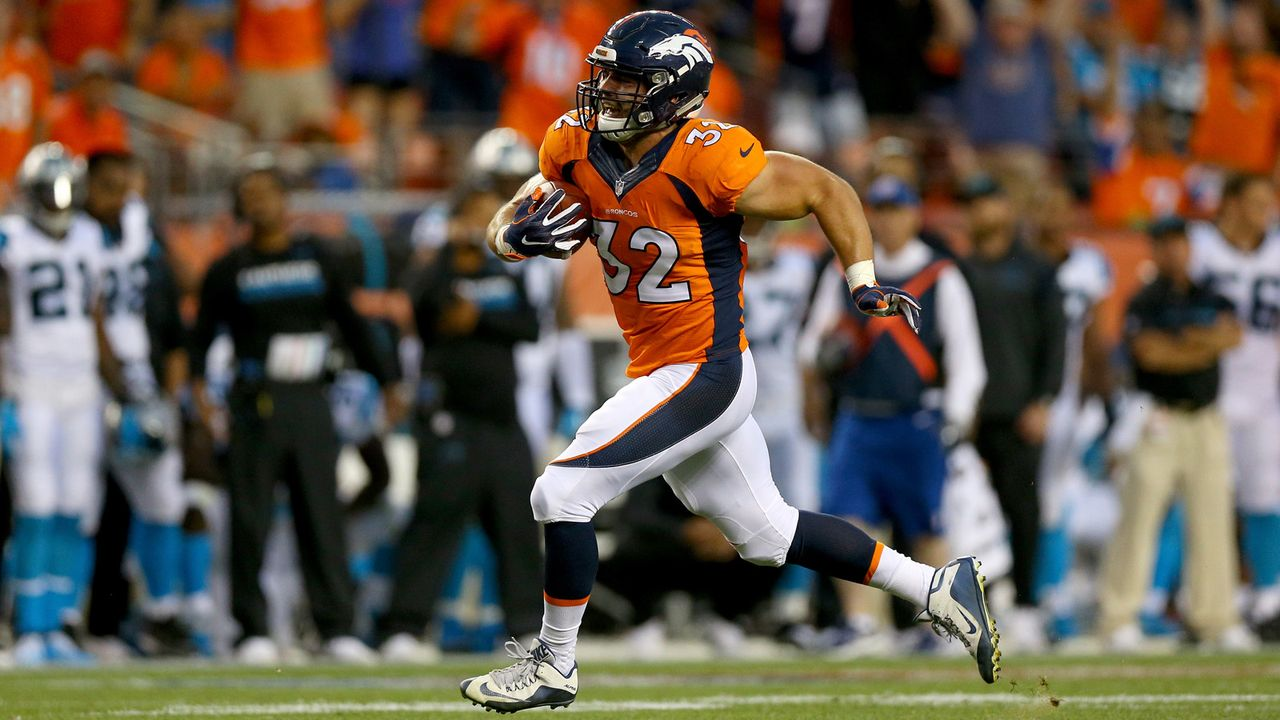 Andy Janovich (Denver Broncos) - Bildquelle: 2016 Getty Images