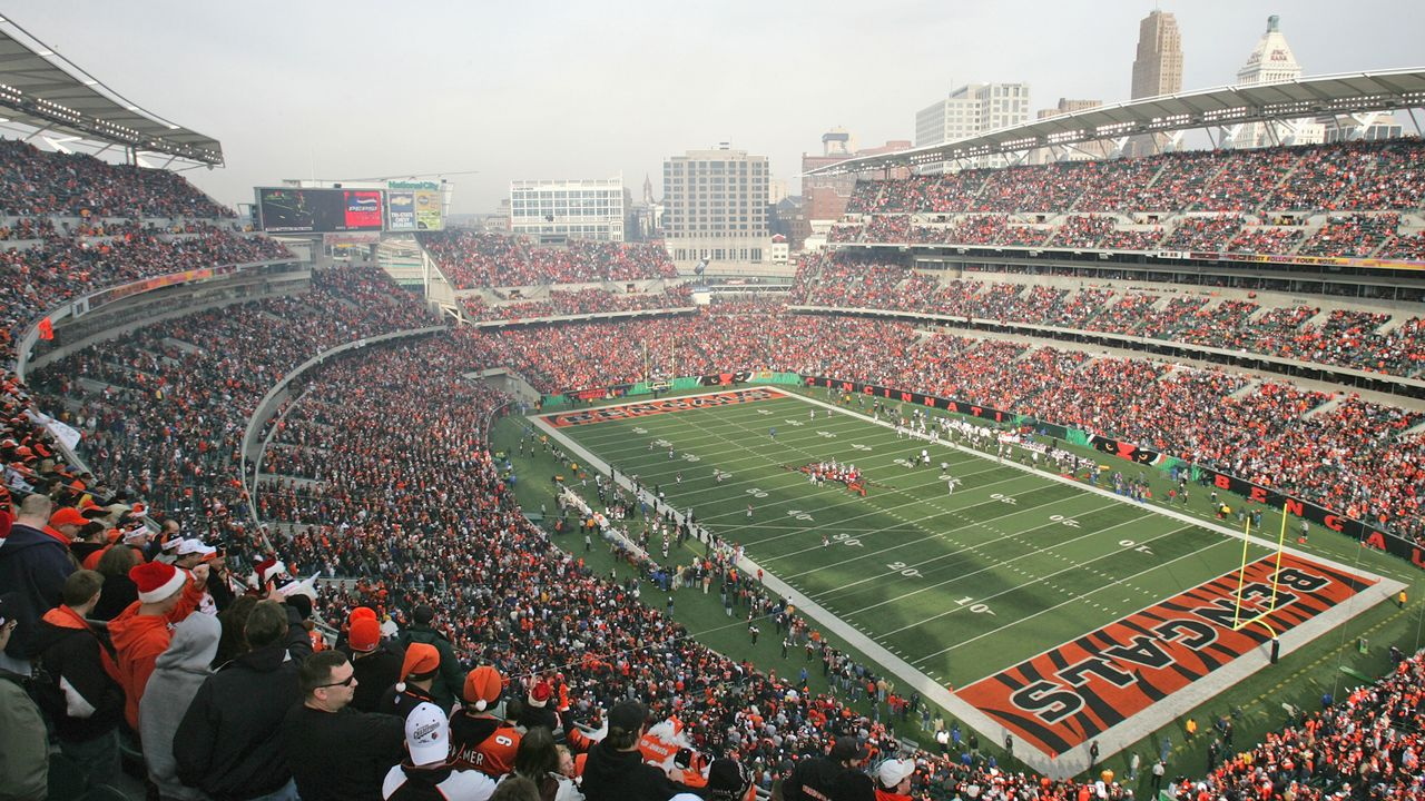 Cincinnati Bengals: Paul Brown Stadium - Bildquelle: Getty Images