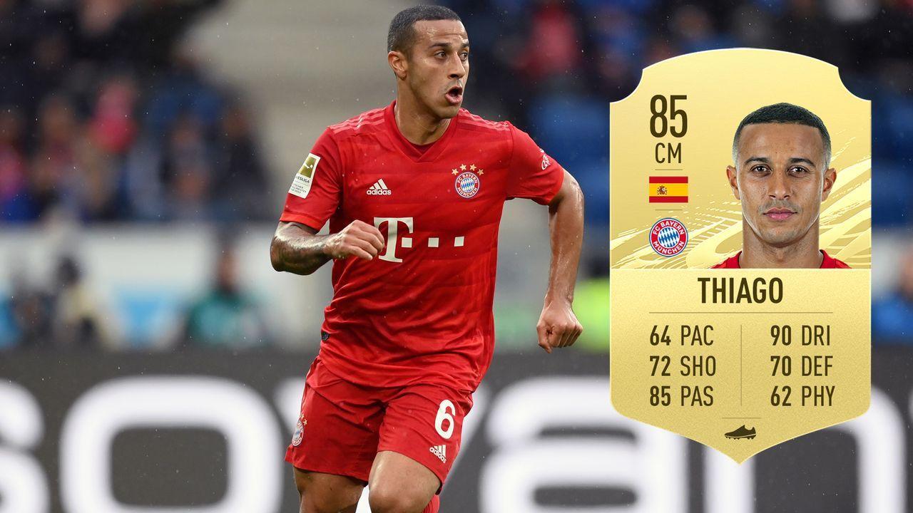 Thiago (FC Bayern München/Spanien) - Bildquelle: 2020 Getty Images/EA Sports