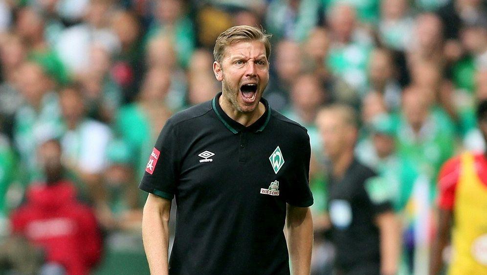 Bremens Trainer Kohfeldt hadert mit der Niederlage - Bildquelle: FIROFIROSID