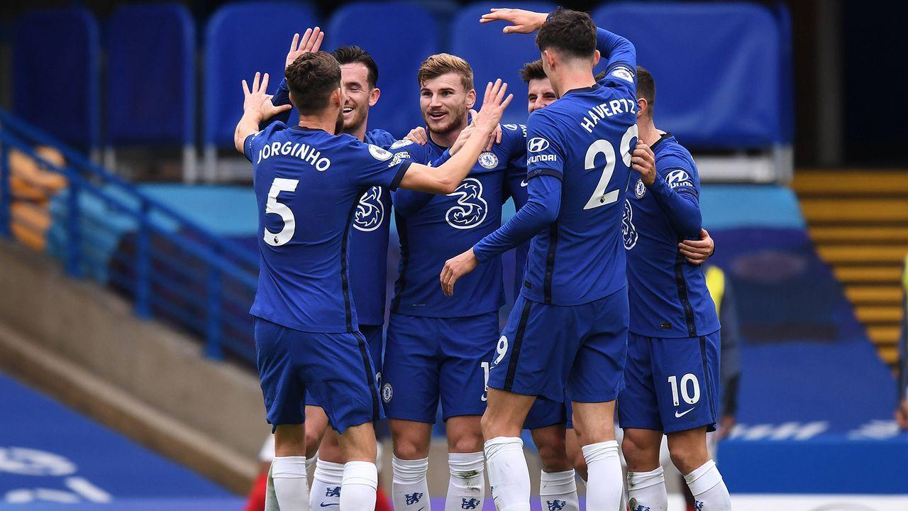 Platz 8: FC Chelsea - Bildquelle: Imago