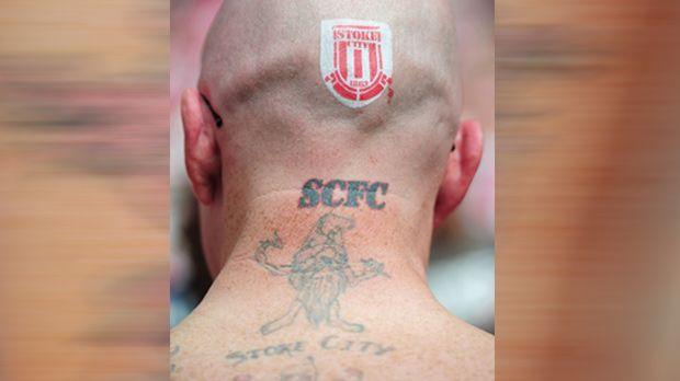 Die verrückten Tattoos der Premier-League-Fans - Bildquelle: Getty Images
