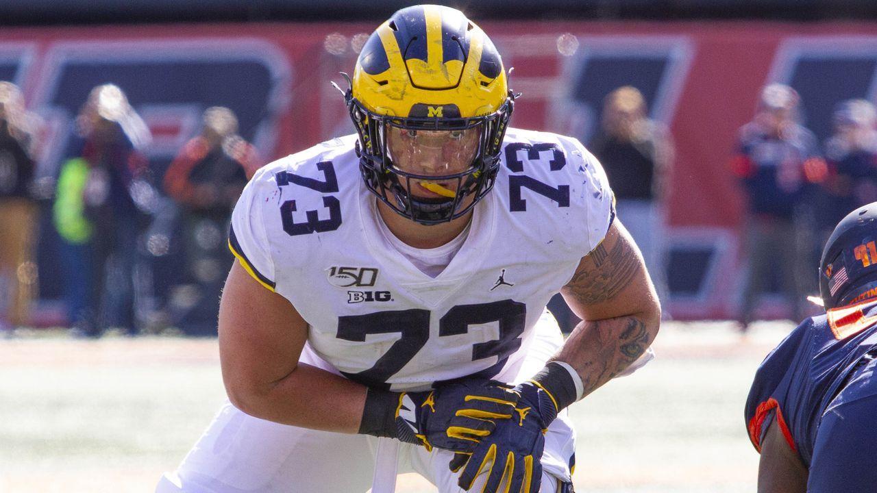 Pick 17: Jalen Mayfield (Offensive Tackle, Michigan) - Bildquelle: imago images/ZUMA Press
