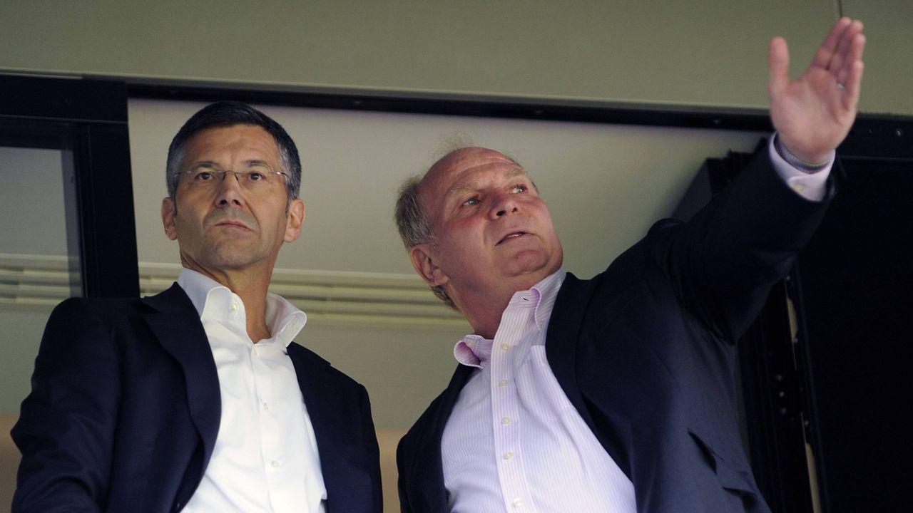 Nachfolger von Uli Hoeneß beim FC Bayern München: Das ist Herbert Hainer - Bildquelle: imago images / Sven Simon