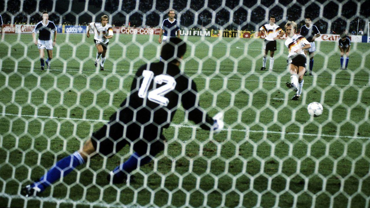 WM-Finale 1990: Argentinien - Deutschland - Bildquelle: imago images/Horstmüller