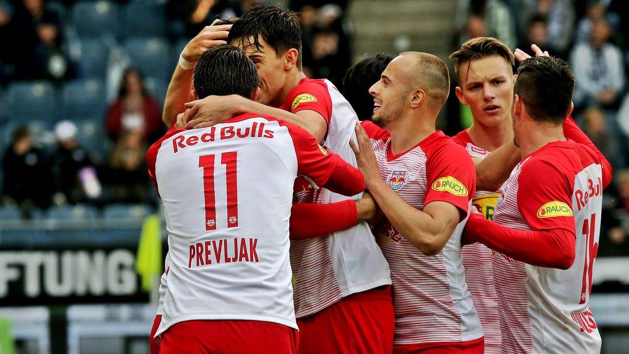 Red Bull Salzburg - Bildquelle: imago images / GEPA pictures