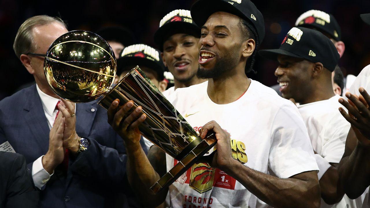 Leonard verlässt den amtierenden Champion - Bildquelle: 2019 Getty Images