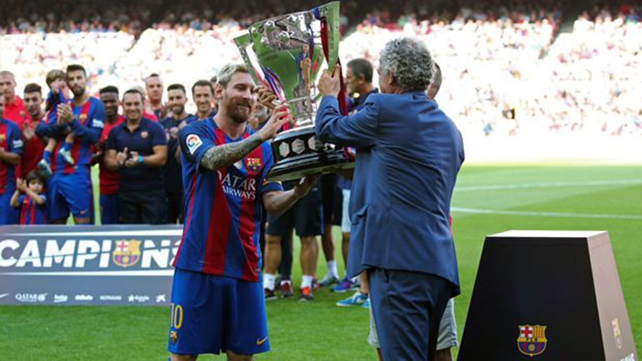 Platz 3 - Lionel Messi (35 Titel) - Bildquelle: imago/ZUMA Press