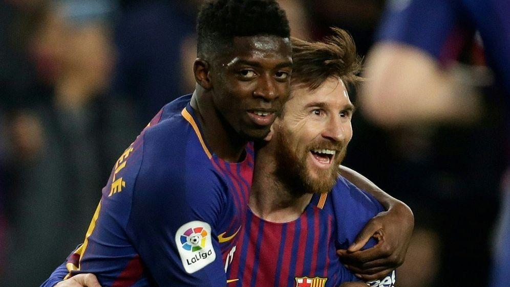 FC Barcelona: Dembele und Messi können spielen - Bildquelle: FIROFIROSID